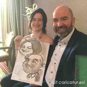 Caricature Artist for Weddings Dundalk
