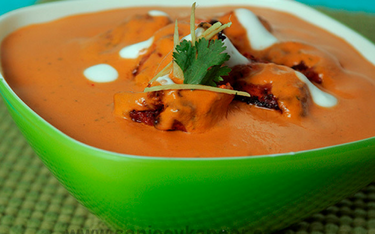 Butter Chicken Recipe By Sanjeev Kapoor All About Qatar