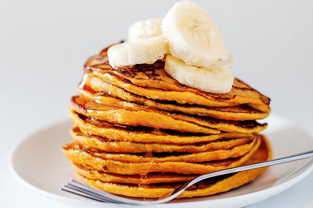 2-Ingredient-Sweet-Potato-Pancakes-Recipe