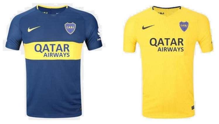 best service d4f98 cba7d Qatar Airways and Boca Juniors reveal new jersey featuring ...