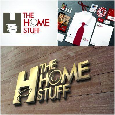 Branding - THE HOME STUFF- Identity design, collateral design, Brand manual