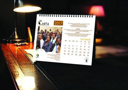 Design & Print - APHRC Calendar