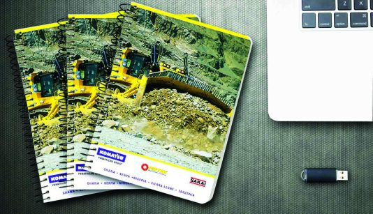 Design & Print - Panafrican Equipment notebooks