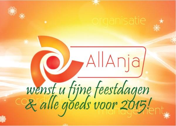 AllAnja Nieuwjaarsgroet 2015