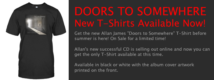Allan James - New T-Shirts! - April 2016