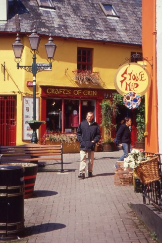 The colourful streets of Kinsale. (Allan Lynch Photo)
