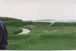 The walk to the original Viking settlement site. (Allan Lynch Photo)