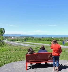 Whether you've been to the city for the day or returning home after a long trip or time away, this view from the View Park in Avonport says 'you're home'. If you've a visitor, it's our welcome. (Allan Lynch Photo)