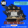 Episode 149 -- Should I Be a Generalist or a Specialist?