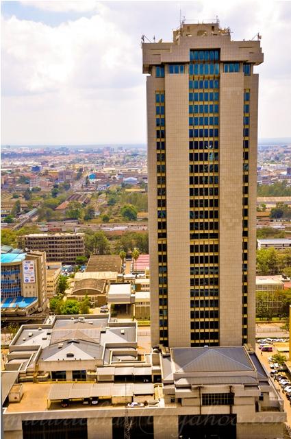Some shots of Nairobi atop KICC.
