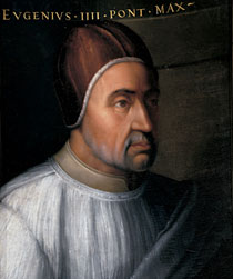 Pope Eugene IV Who Presided Over The Council Of Florence