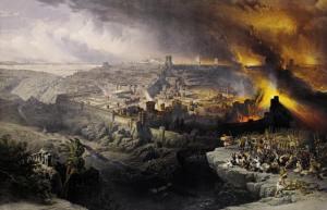 God Judging Jerusalem
