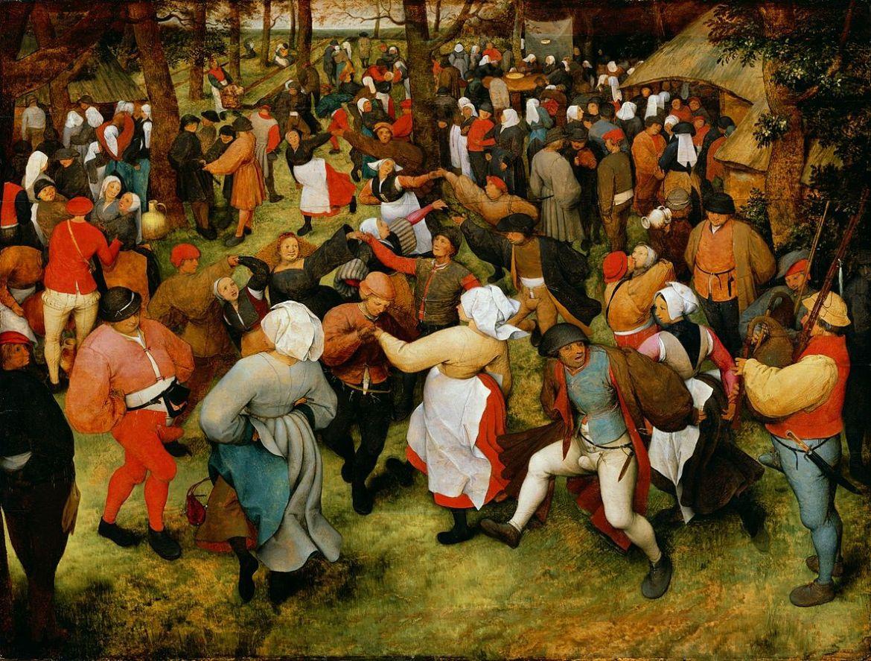 The Wedding Dance by Pieter Brueghel the Elder, circa 1566
