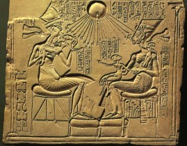 A depiction of Aten