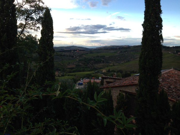 EVENING AT VILLA LE BARONE