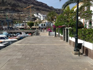 Canal Bridge in Mogan, Grand Canary Island