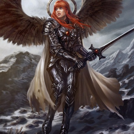 Fantasy Illustration - 'Selena Blackwing'