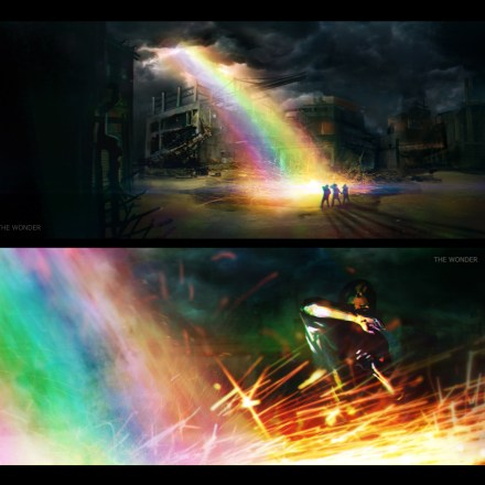 Concept art/ production design for film 'The Wonder 3D'