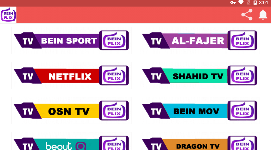 Beinflix New IPTV APK 3