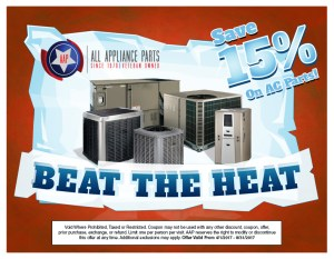 Beat the Heat 15% Off!