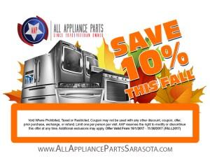 All Appliance Parts Sarasota Amp Bradenton Fl