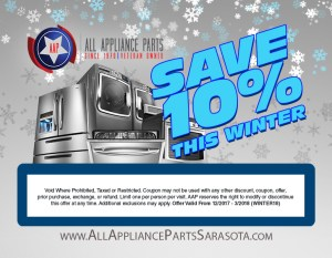 All Appliance Parts Sarasota Amp Bradenton Fl