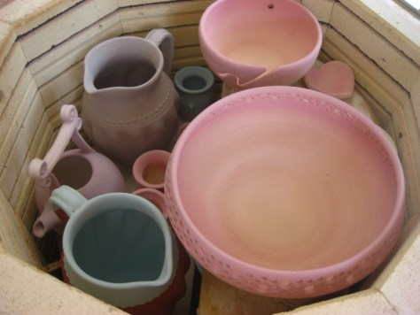 ceramics before glaze firing