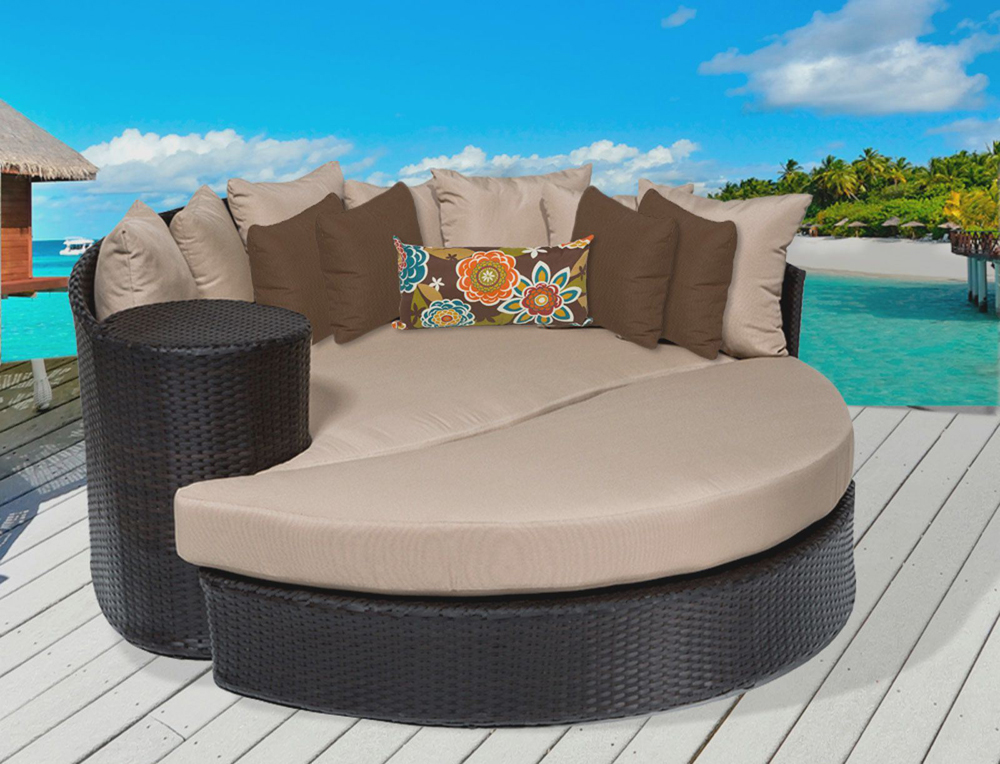 all weather wicker sofa three seater sofas modern outdoor furniture for beautiful yard ...