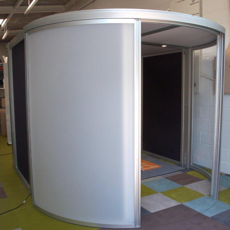 SOLD ORANGEBOX Airea Lozenge Acoustic Office Pod 9005