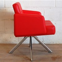 PLEDGE Xross Reception Lounge Armchair Red 3015