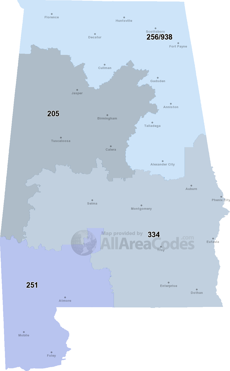 830 Area Code Time Zone : Interactive, Printable