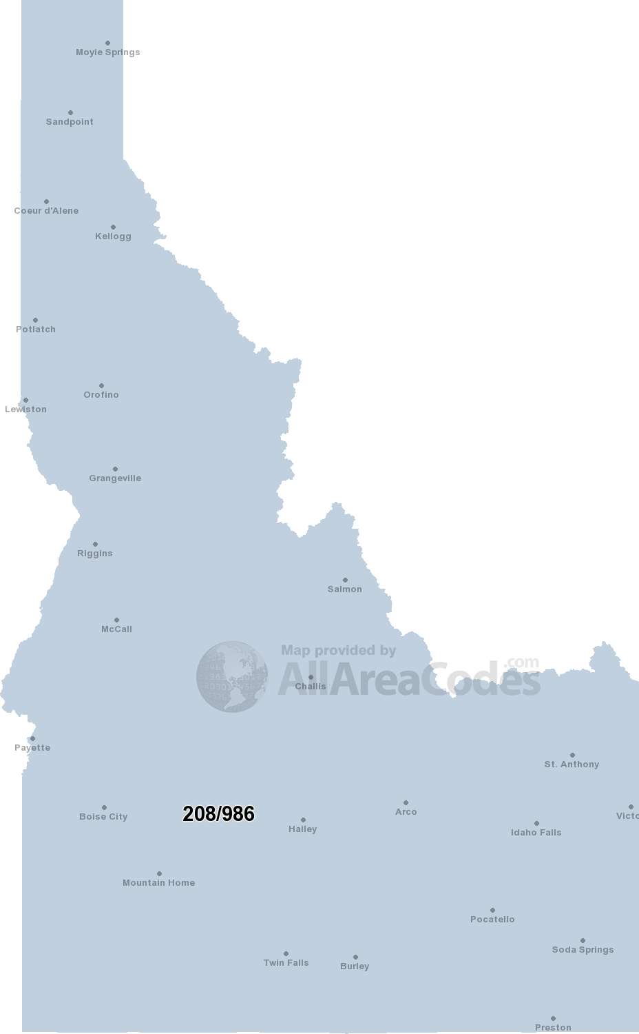 Area Code 510 Map : Interactive, Printable