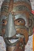 Tibet, antica maschera in ferro