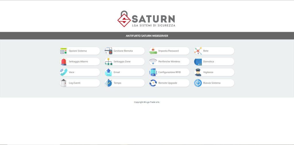 Antifurto Casa Saturn IP- Come impostare APN centrale Gprs