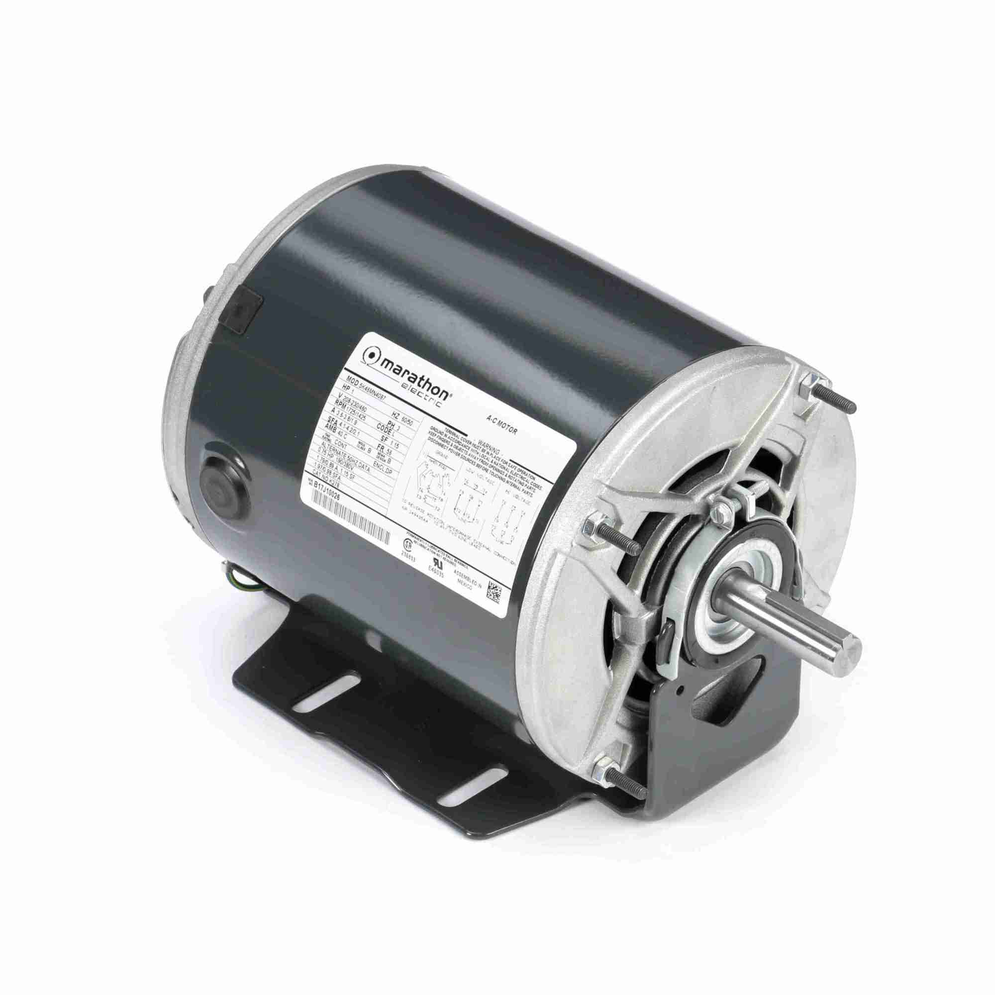 hight resolution of 304853 greenheck replacement motor all around industry supply 115 230 volts 60 cycles 1725 rpm diagram parts list for model