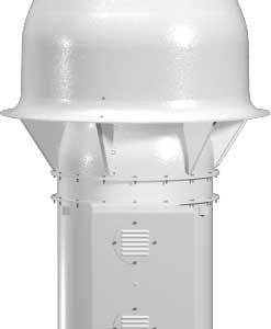 QMX-VP Vari-Plume® Laboratory Exhaust Mixed Flow Inline Belt Drive