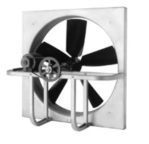 Breezeway (BZW) Axial Propeller Panel Fans