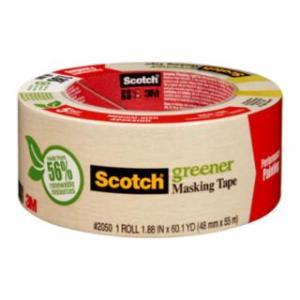 405-021200-05620 Scotch 2050 Greener Masking Tapes, 1.88 in x 60 yd, Beige