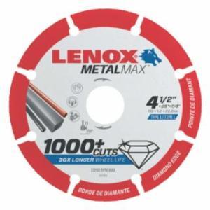 433-1972921 MetalMax Cut-Off Wheels, 4 1/2 in, 7/8 in Arbor, eel/Diamond