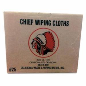 552-101-25 Knit T-Shirt Polo Cotton Wiping Rags, White, 25 lb Box