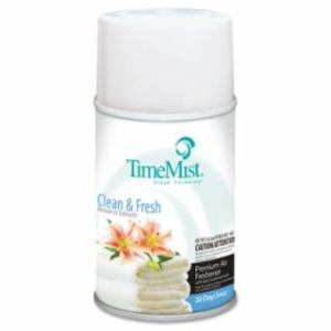 019-1042771 Metered Fragrance Dispenser Refills, Cln N Fresh, 6.6oz Aerosol