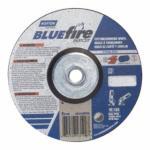 "547-66252843199 BlueFire Depressed Center Wheels, 6"" Dia, 5/8"" Arbor, 1/8"" Thick, 24 Grit"