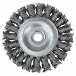 804-08004 andard Twi Knot Wire Wheel, 3 in D x 3/8 in W, .0118 eel, 1/2-3/8 Arbor