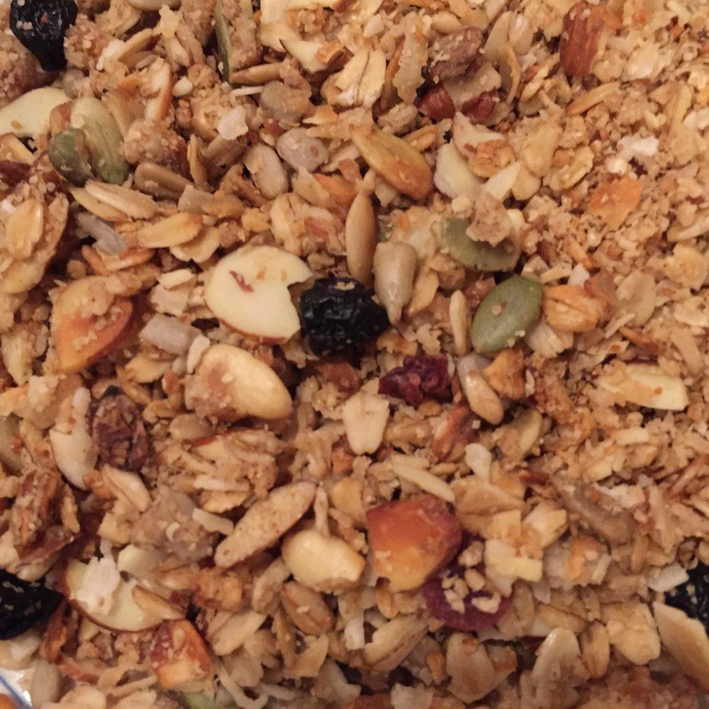 Mom's granola recipe