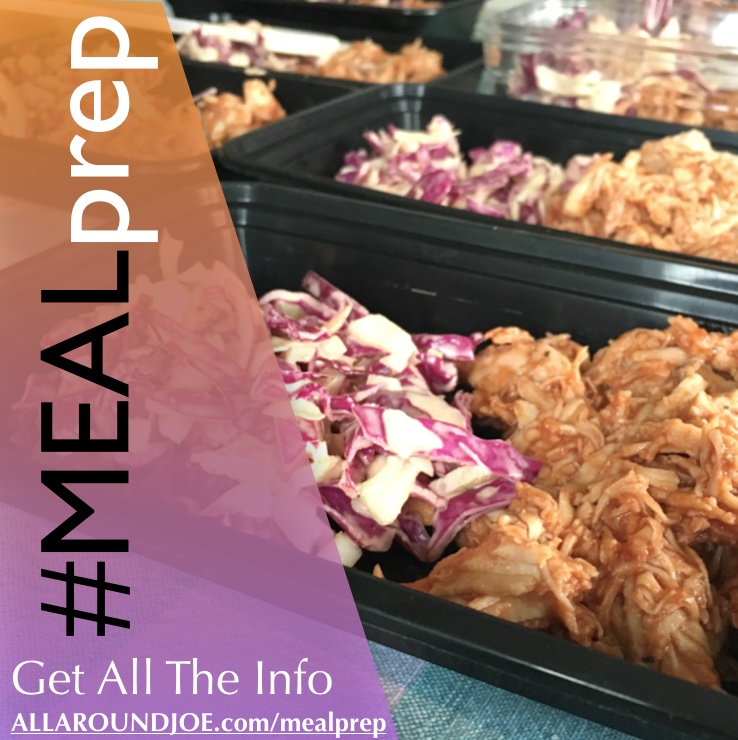 Meal Prep Sunday – BBQ Chicken Slaw