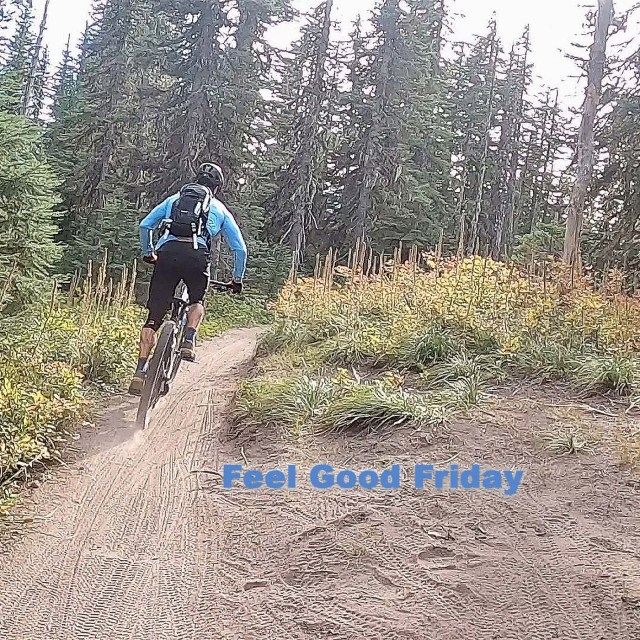 Feel Good Friday - Grand Prix - Ultimate Test - Change with Joe Bauer riding the Timberline to Town trail