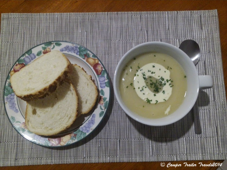 Potato Ham and Leek Soup is easy to make and so delicious to eat!