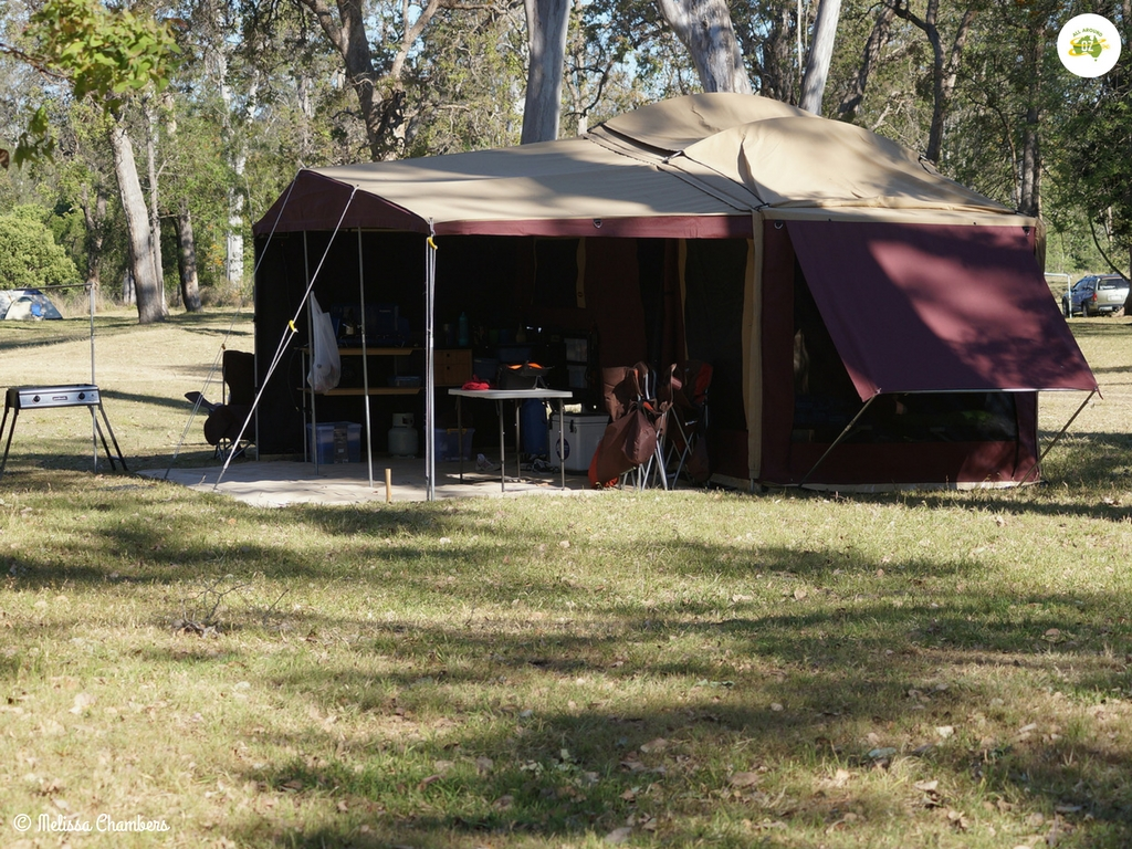 How to keep your trailer cool camping in hot weather