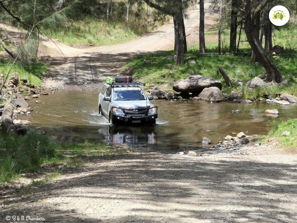 Condamine River gorge track