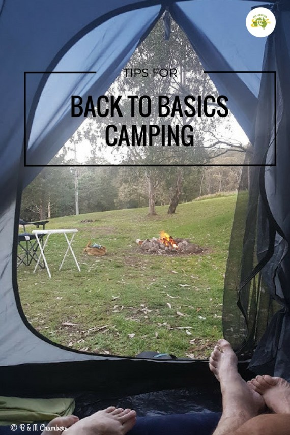 back to basics camping